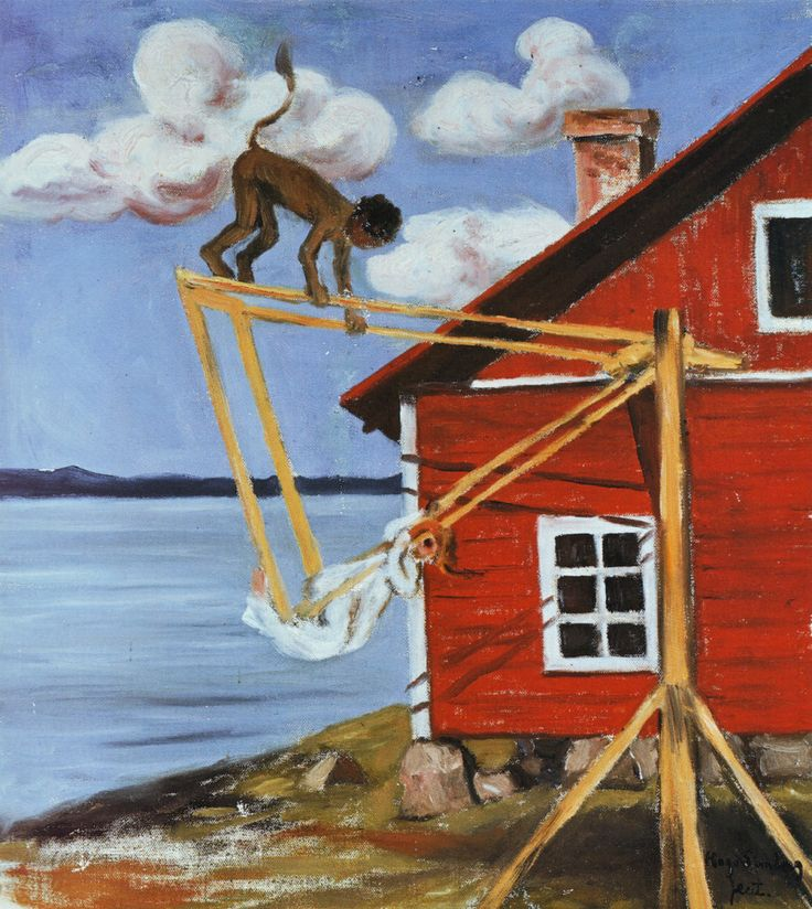 Hugo Simberg - Pirunkiikku