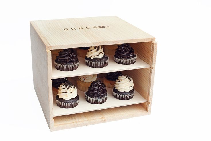 CakeBox:  A fun way to transport cupcakes or cakes!