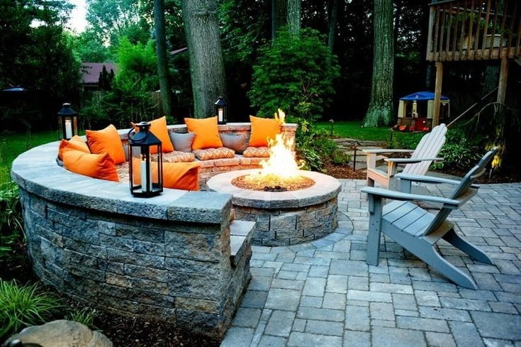 Get Fired Up: 10 Fire Pits for Inspiration in 2020 ... on Fire Pit Inspiration  id=99719