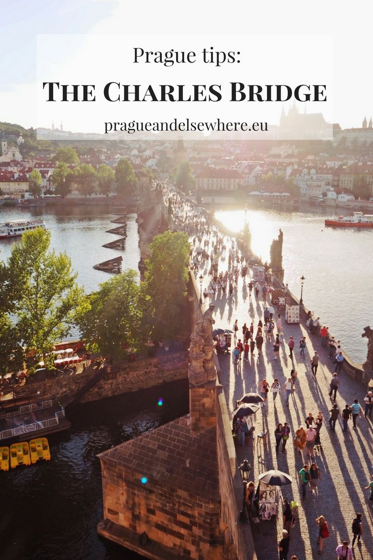 Charles Bridge and my tip for awesome views of Prague, Czech Republic