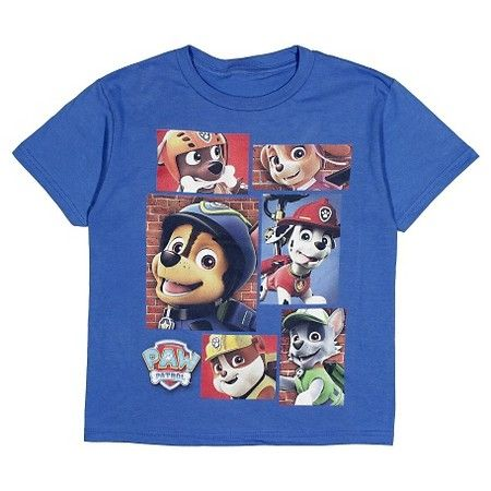 Boys PAW Patrol Short Sleeve T Shirt
