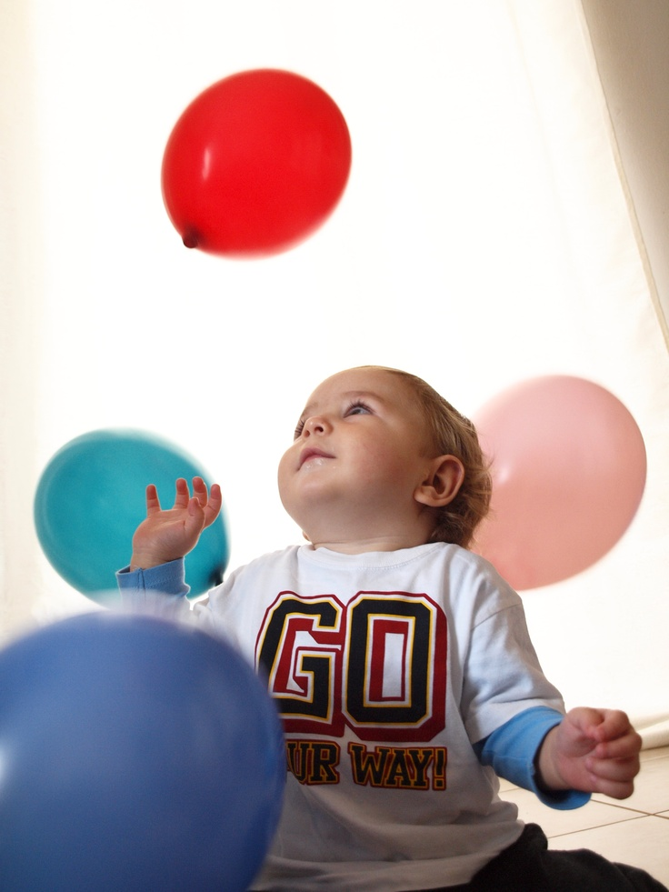 photo-shooting with balloons!