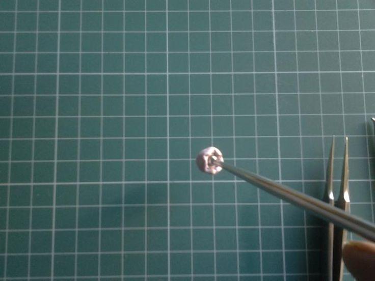 Лепка цветочка ландыша с помощью молда - Ярмарка Мастеров - ручная работа, handmade