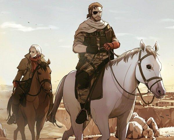 Tags: Anime, Metal Gear Solid, Revolver Ocelot, Big Boss