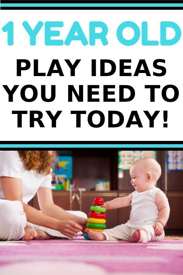 The Best Activities for 1 Year Olds to Encourage Development