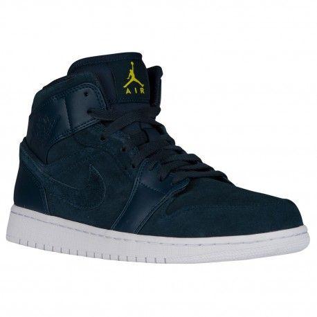 $99.99 #sneakers #sneakershouts #sneakerholics #sneakerhead #shoes #mens #womens #style #shoes #tenis  jordan aj1 white,Jordan AJ1 Mid - Mens - Basketball - Shoes - Armory Navy/Electrolime/White-sku:54724421 http://jordanshoescheap4sale.com/474-jordan-aj1-white-Jordan-AJ1-Mid-Mens-Basketball-Shoes-Armory-Navy-Electrolime-White-sku-54724421.html
