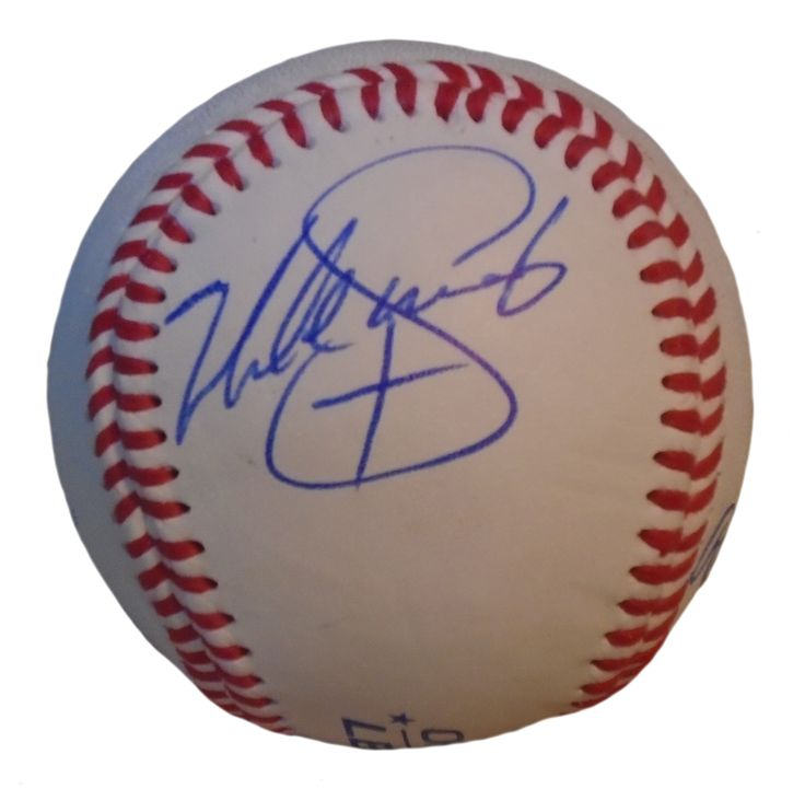 Seattle Mariners Mike Sweeney signed Rawlings ROLB leather baseball w/ proof photo.  Proof photo of Mike signing will be included with your purchase along with a COA issued from Southwestconnection-Memorabilia, guaranteeing the item to pass authentication services from PSA/DNA or JSA. Free USPS shipping. www.AutographedwithProof.com is your one stop for autographed collectibles from Seattle Sports teams. Check back with us often, as we are always obtaining new items.