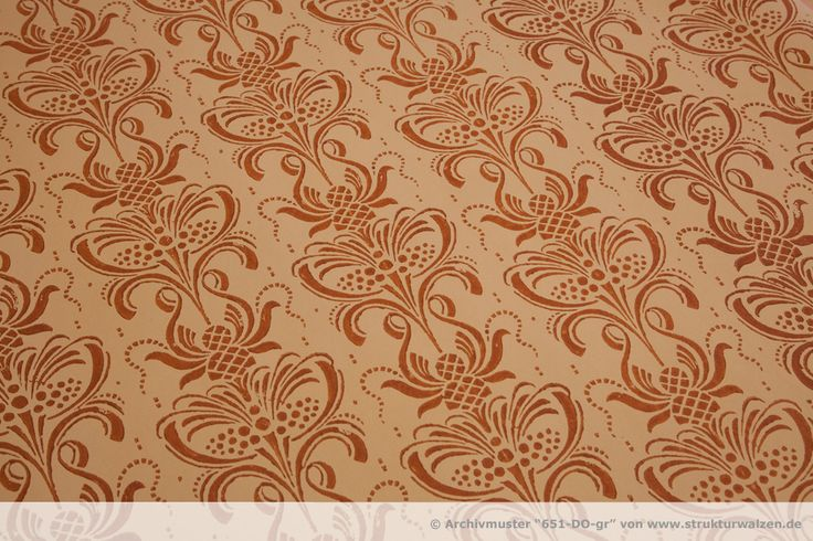 Baroque pattern - motif baroque - Barok desen - modelo barroco - バロック様式のパターン