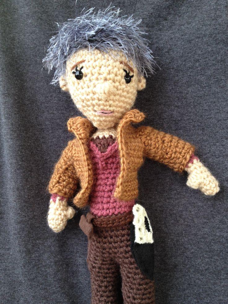 The Walking Dead Carol Peletier Doll by KadieCrochets on Etsy