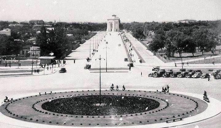 Bucuresti - Piata Jianu - (actual Ch. De Gaulle) - 1936