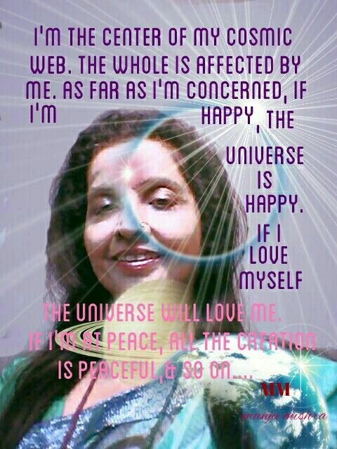 Love yourself and then only you can love the whole creation.