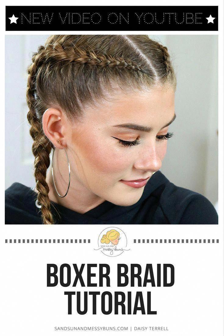 This video teaches you how to do Dutch braids (aka boxer braids or cornrows) and…, #aka #Bo…