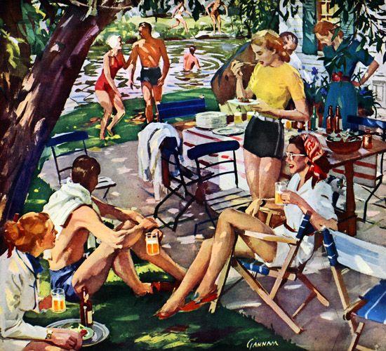 Beer belongs . . . enjoy it | U.S. Brewers Foundation, 1948