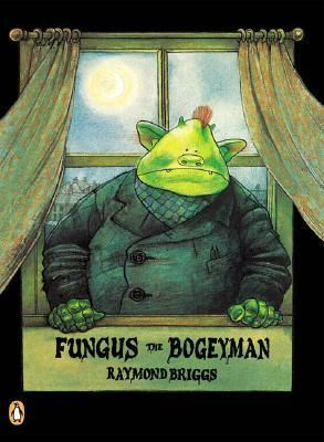 Fungus the Bogeyman by Raymond Briggs. Most people know Raymond Briggs (even if they don't know they know him) for The Snowman, a wonderful children's book to be sure, but it is unusual for his work in that it's a traditional picture book, where most of his books are graphic novels or comics. This book I read as a kid, along with Father Christmas and Ug: Boy Genius of the Stone Age.