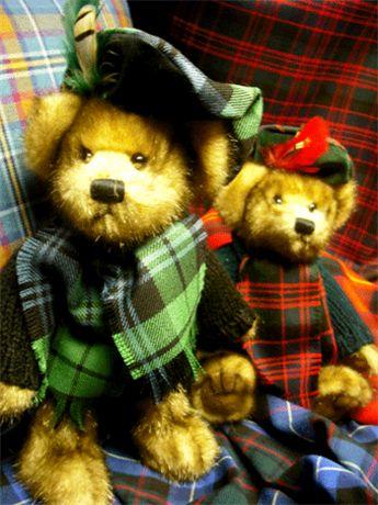 plaids from scotland   STA Online Shop. Tartan Teddy Bear - MacBear