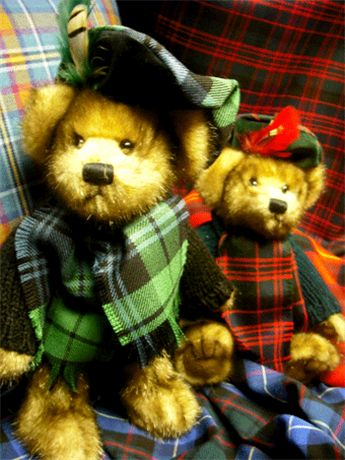 plaids from scotland | STA Online Shop. Tartan Teddy Bear - MacBear