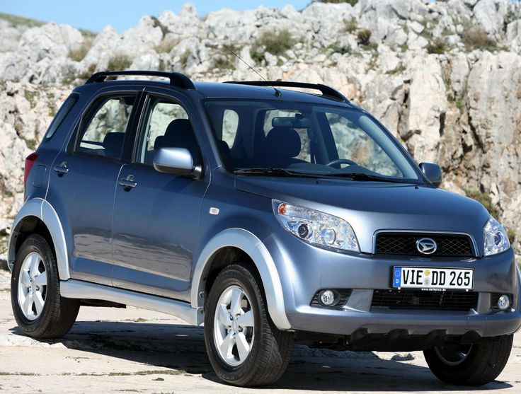 Daihatsu Terios Specification - http://autotras.com
