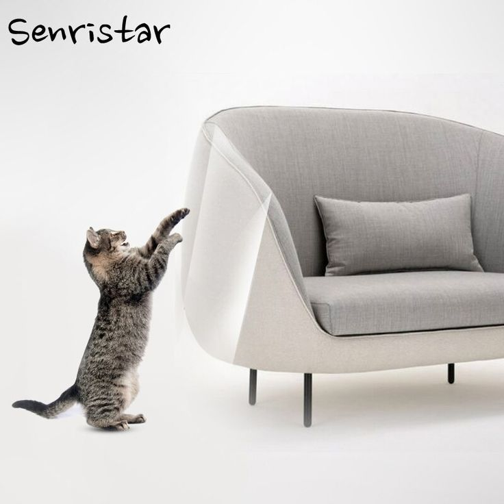 2pcs Set Leather Cloth Sofa Cat Claw Protector Self Adhesie Protect Pads Cat Scratching Post Chair Furniture Cat Scratching Post Cat Scratching Furniture Chair