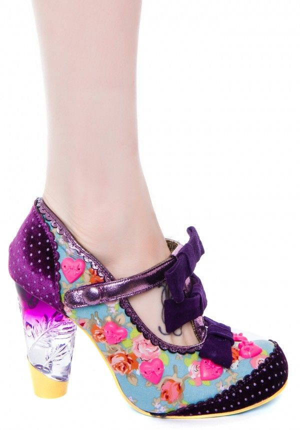 Irregular Choice Love and Magic heels