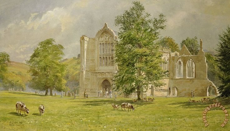 Bolton Abbey Painting by Tim Scott Bolton