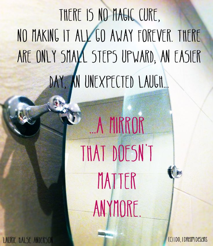 Quotes About Ed Recovery a mirror that doesn't ...
