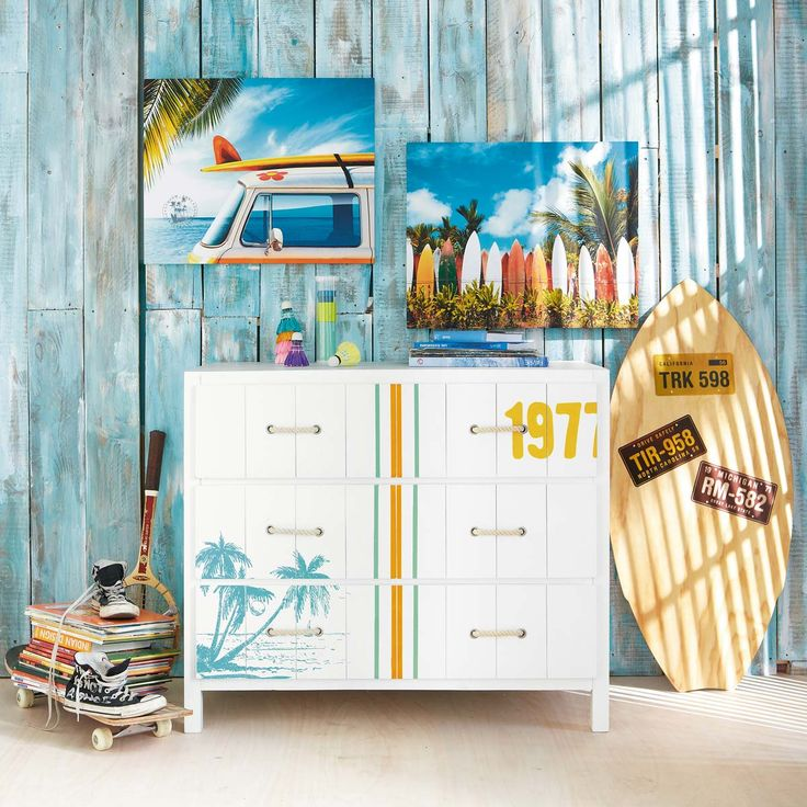 Commode blanche SURF