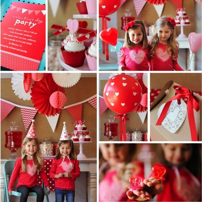 14 Best First Birthday Party Valentine Theme Images On Pinterest