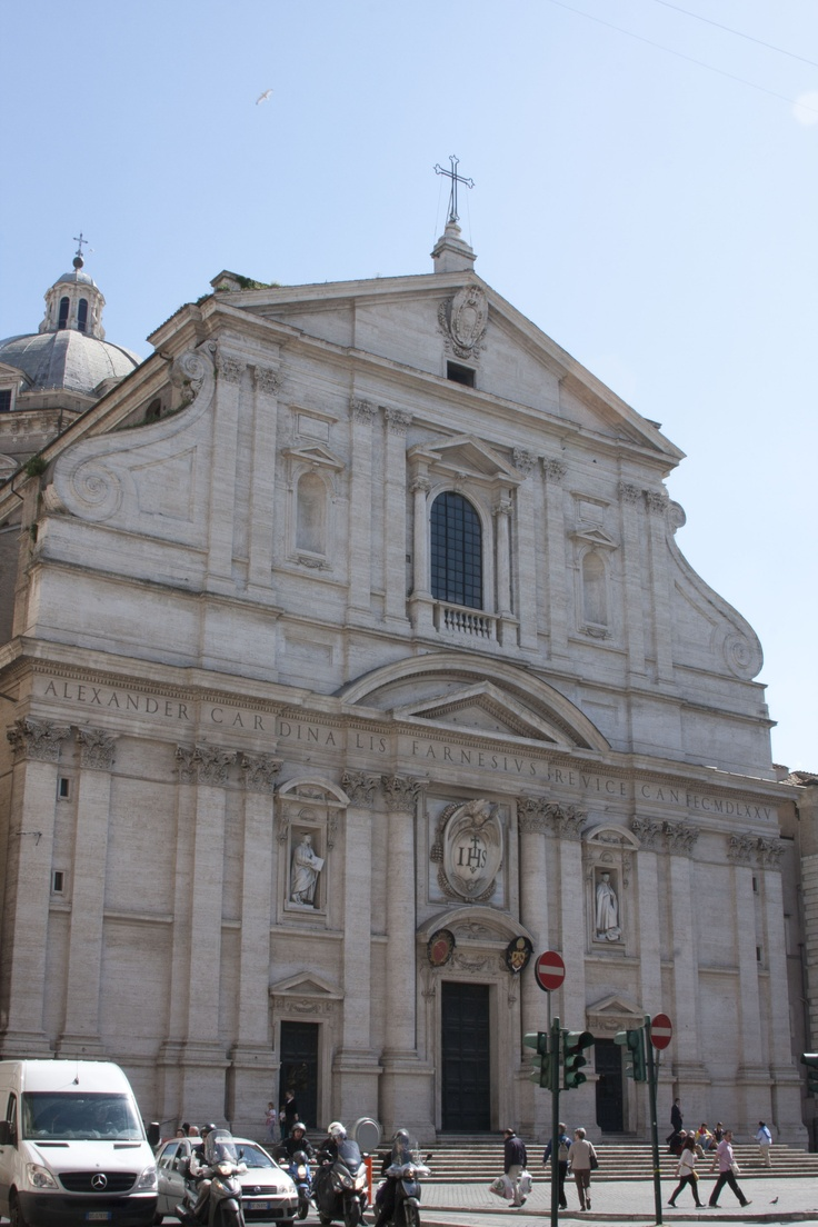 36 best chiesa del gesu rome images on pinterest for Baroque italien