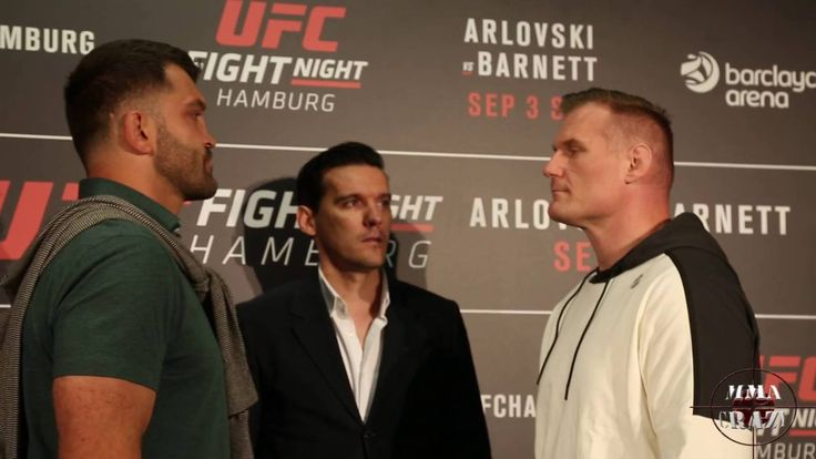 UFC Fight Night Hamburg: Andrei Arlovski vs. Josh Barnett Media day face...