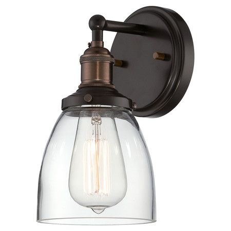 cast an inviting glow in your foyer or hallway with this classic wall sconce featuring