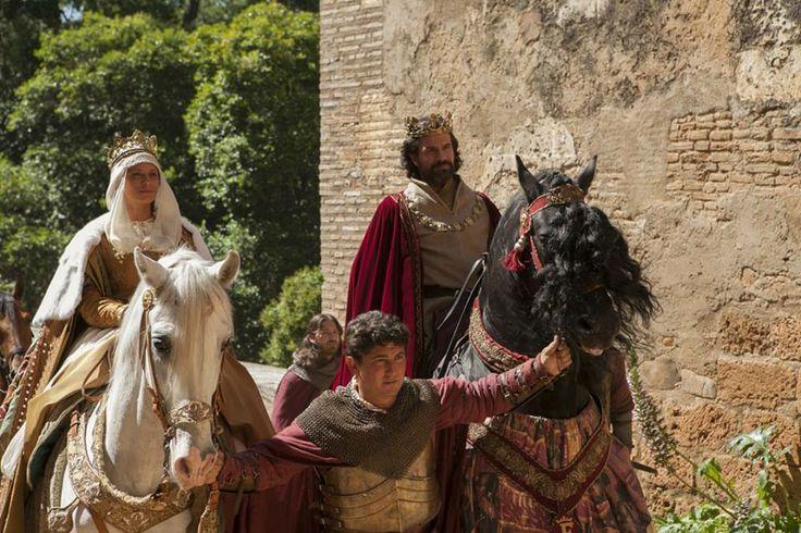 Entrada Isabel y Fernando a la Alhambra