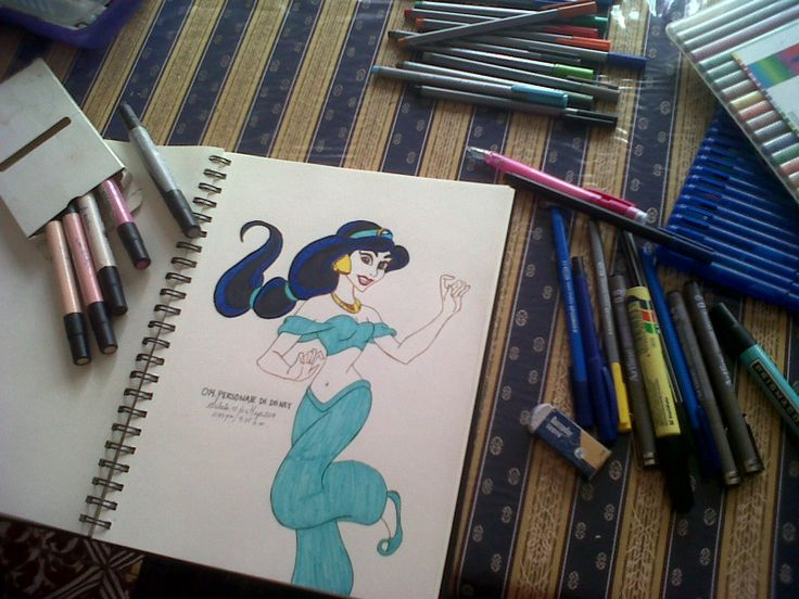 PERSONAJE DISNEY: JASMINE ^^  Mi princes Disney favorita!