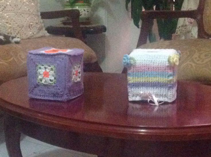 Servilletero en crochet. Beauty napkins.