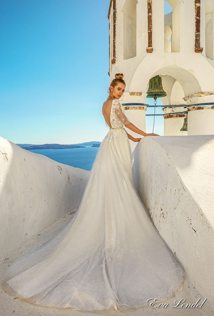 1089 best Half sleeve wedding dresses. images on Pinterest | Wedding ...