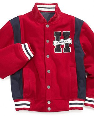 Tommy Hilfiger Kids Jacket, Little Boys American Prep Varsity Jacket  Web ID: 741959