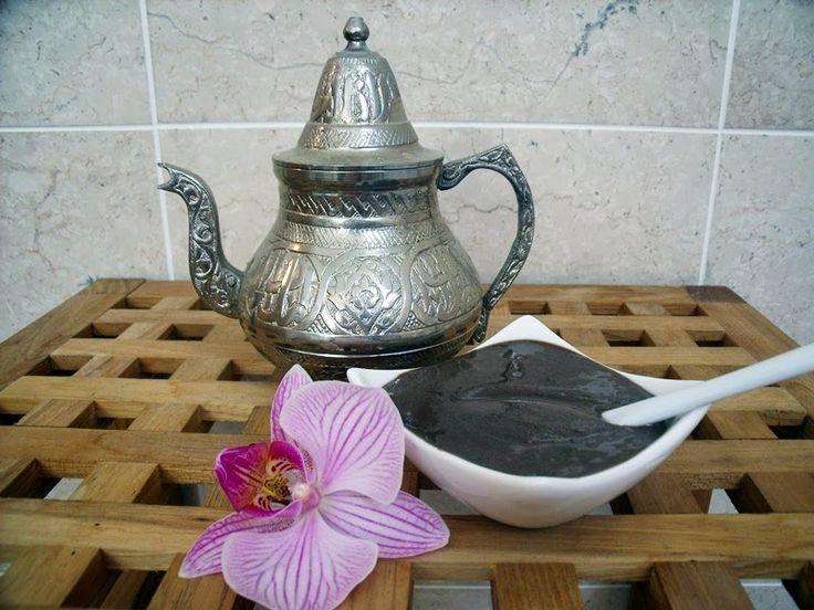 Misha Beauty - přírodní kosmetika a jiné DIY : Hammam lázně - luxusní čistící pasta s rhassoulem