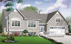 Plan de maison no. W3274 de dessinsdrummond.com