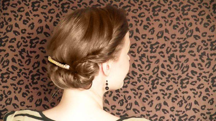 From my new tutorial series on vintage hairstyles. #VintageHairstyle #1940s #RetroStyle