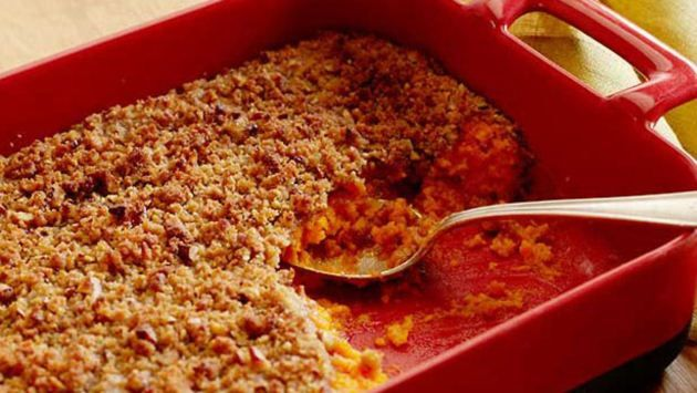 Get this all-star, easy-to-follow Sweet Potato Souffle recipe from Trisha Yearwood