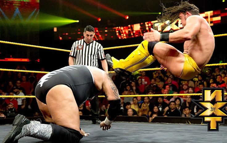 Adrian Neville in action HD Image
