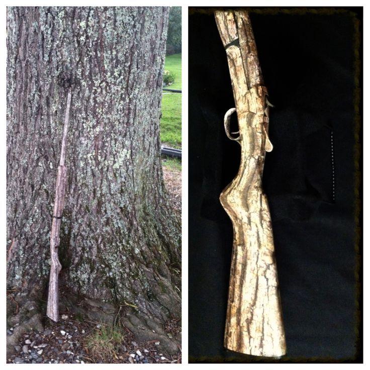 Image result for tree bark gun