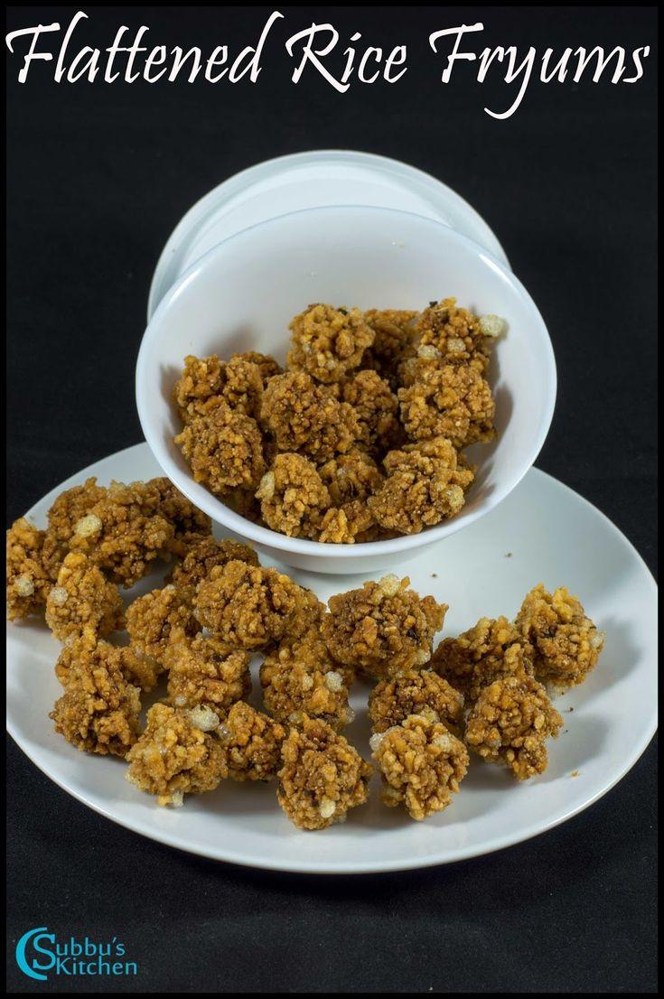 Aval Karuvadam Recipe | Flattened Rice Fryums