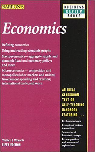 Economics (Barron's Business Review): 9780764147609: Economics Books @ Amazon.com