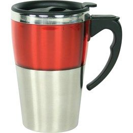 350ml S/S double walled mug with distinctive ABS colour trim. Boxed. http://catalogue.davarni.com.au/Products/Search/Products?textSearch=&category=12200&=&startRow=50&maxRows=50