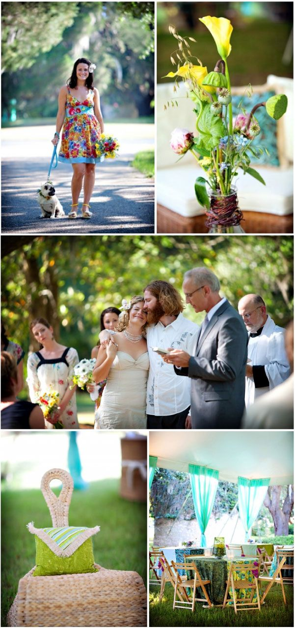 Hippy Chic wedding from Style Me Pretty, Photography by Ruth Rackley Photography. Design by Della Ramsey