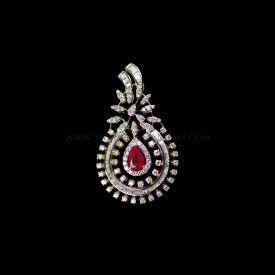 Dazzling Diamond Pendant