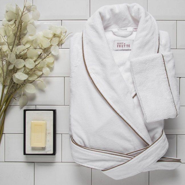 Банные халаты от дома Frette-комфорт и качество на каждый день. www.frette.com.ua