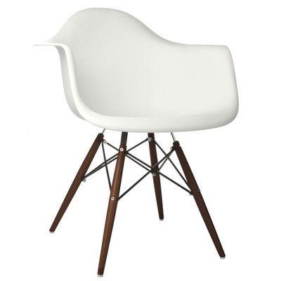 eModern Decor Scandinavian Arm Chair & Reviews | Wayfair