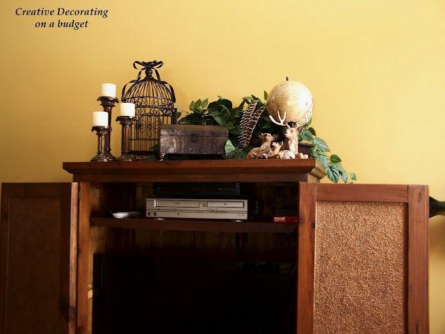 66 best cabinet top decorating images on Pinterest