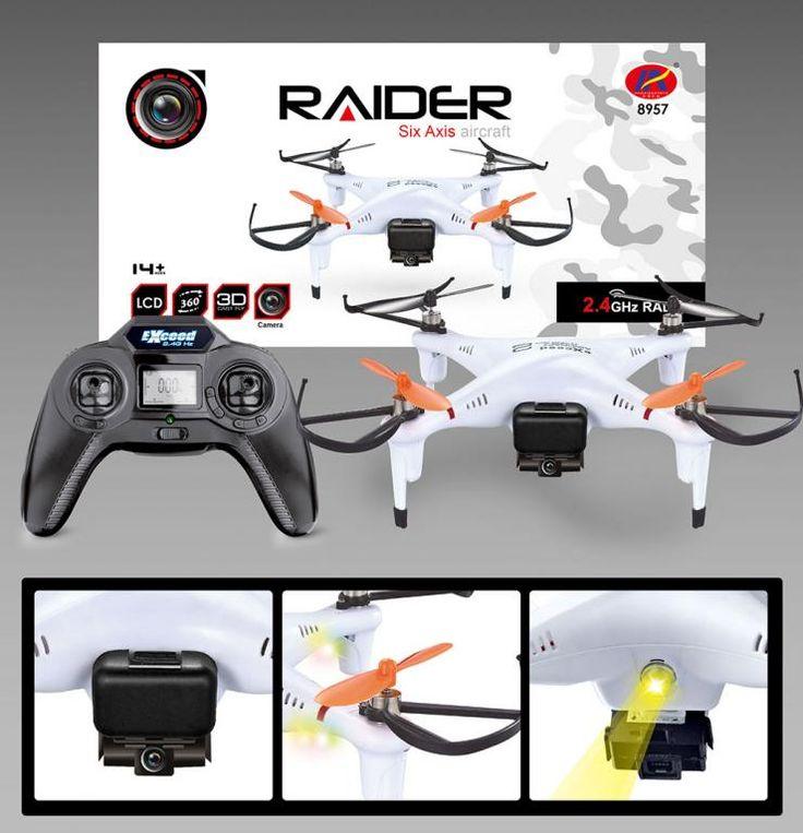 Mały zwinny dron XBLITZ RAIDER 8957. Rewelacja!